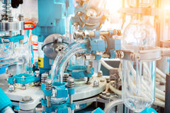 Chemical and laboratory equipment, chemical reactor. Royalty Free Stock Images