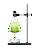 Chemical laboratory experiment Stock Images