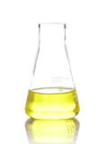 Chemical laboratory flask Royalty Free Stock Photography