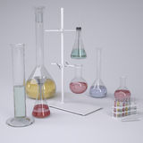 Chemical laboratory Stock Photos