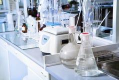 Chemical laboratory like background. Royalty Free Stock Image