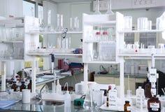 Chemical laboratory like background. Stock Photography