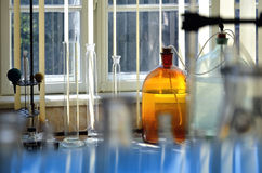 Chemical laboratory Stock Photos