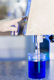 Chemical Liquid Lab Research royalty free stock image