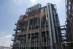 Chemical manufacturing plant Stock Photography