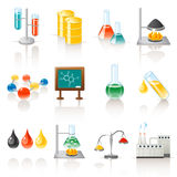 Chemical objects Royalty Free Stock Photos