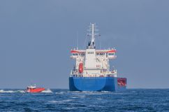 CHEMICAL/OIL PRODUCTS TANKER stock images