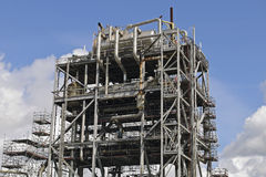 Chemical and oil refinery Stock Photos