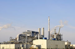 Chemical and  oil refinery Royalty Free Stock Photo