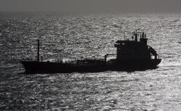 A chemical/oil tanker. Royalty Free Stock Photography