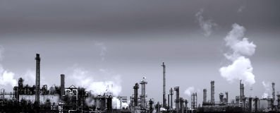 Chemical plant Royalty Free Stock Photo