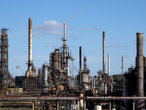 Chemical plant Royalty Free Stock Images