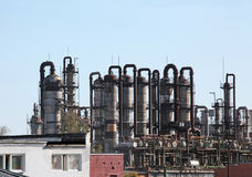 Chemical plant Stock Photos