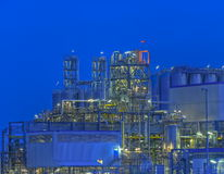 Chemical Plant. Chemical production facility in The Netherlands Royalty Free Stock Images