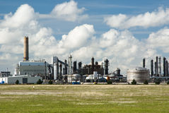 Chemical Plant. A refinery for producing chemical products Stock Photography