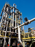 Chemical plant with blue sky 6 Royalty Free Stock Photo