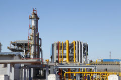 Chemical plant equipment Royalty Free Stock Photo