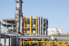 Chemical plant equipment Stock Photography
