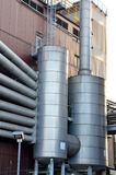 Chemical plant exterior details Stock Image