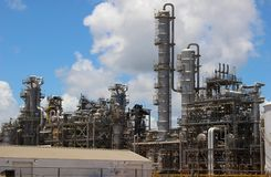 Chemical plant factory royalty free stock photos