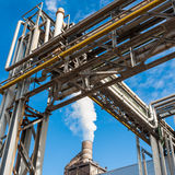 Chemical plant for furniture factory royalty free stock image