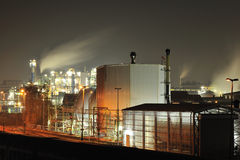 The pollution from chemical plant  Stock Photos