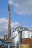 Chemical plant of Malaysian company KLK Oleo. Germany, federal state North Rhine-Westphalia, city Emmerich on the Rhine [German Emmerich am Rhein: Factory site Royalty Free Stock Photography