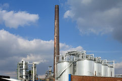 Chemical plant of Malaysian company KLK Oleo Stock Photo