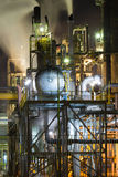 Chemical plant Royalty Free Stock Photography