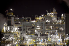 Chemical plant in Poland Royalty Free Stock Photography