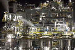 Chemical plant in Poland Royalty Free Stock Photo