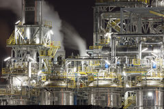 Chemical plant in Poland Stock Photography