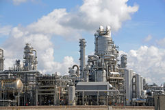 Chemical plant 4 Stock Image