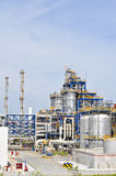 Chemical plant in summer day Stock Photography