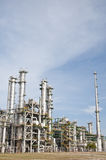 Chemical plant in summer day Stock Photos