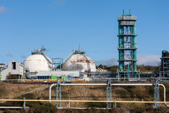 Chemical Processing Factory Plant Stock Photography