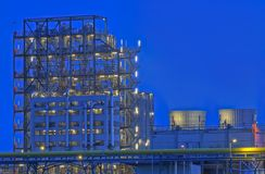 Chemical Production Facility. In The Netherlands Stock Images