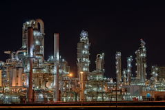 Chemical Production Facility Royalty Free Stock Photos