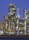 Chemical production facility Royalty Free Stock Photo