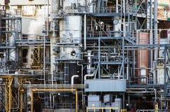 chemical raffinaderi Royaltyfria Foton