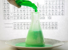 Chemical reaction Stock Photos