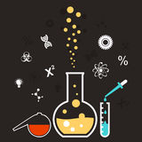 Chemical reaction Stock Photography