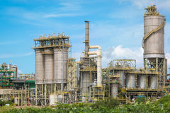 Chemical refinery industrial plant Stock Photos
