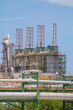 Chemical refinery industrial plant Royalty Free Stock Photography