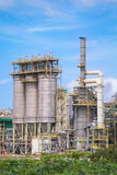 Chemical refinery industrial plant Stock Images