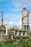 Chemical refinery industrial plant Royalty Free Stock Photos