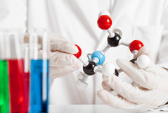 Chemical research Stock Image