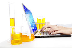 Chemical research Stock Images