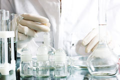 Chemical research Stock Photos