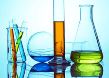 Chemical research royalty free stock images